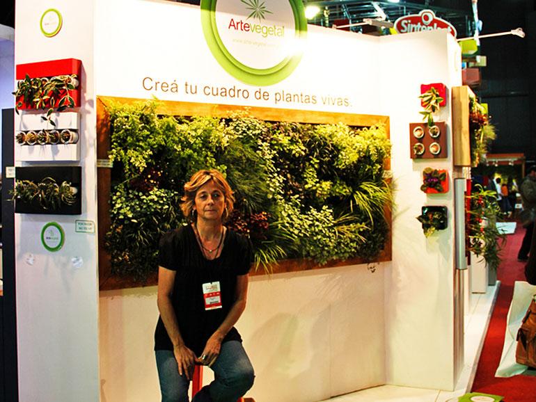 Arte Vegetal Batimat 2011